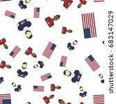 united states of america... | Shutterstock .eps vector #683147029
