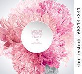 modern floral vector art  ... | Shutterstock .eps vector #683147341