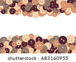 colored buttons on a white... | Shutterstock .eps vector #683160955