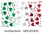 flag of italy   italian flag... | Shutterstock .eps vector #683181841