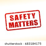 illustration of safety matters... | Shutterstock .eps vector #683184175