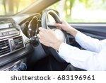 drive a car | Shutterstock . vector #683196961