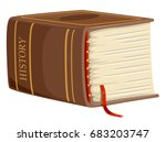 illustration featuring a huge ... | Shutterstock .eps vector #683203747