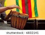 drummer's hands playing in... | Shutterstock . vector #6832141