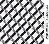 vector seamless pattern. modern ... | Shutterstock .eps vector #683218669