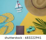 travel around the world for... | Shutterstock . vector #683222941