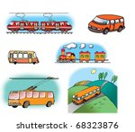 hand drawn illustrations about... | Shutterstock . vector #68323876