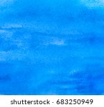 blue abstract aquarelle... | Shutterstock .eps vector #683250949