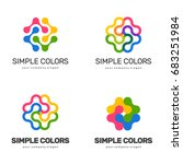 vector logo design for your... | Shutterstock .eps vector #683251984