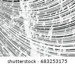 grunge white and black stripes. ...   Shutterstock .eps vector #683253175