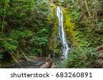 madison creek falls   Shutterstock . vector #683260891