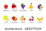 organic nature health fruit... | Shutterstock .eps vector #683279104