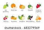 organic nature health fruit... | Shutterstock .eps vector #683279569