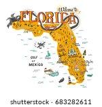 hand drawn illustration of... | Shutterstock .eps vector #683282611