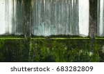 old concrete wall with stains... | Shutterstock . vector #683282809