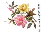 illustration of beautiful... | Shutterstock . vector #683313379