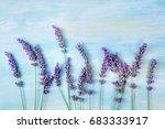 A Photo Of A Lavender Bouquet ...