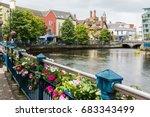 landascapes of ireland. sligo... | Shutterstock . vector #683343499