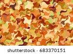 light green vector blurred... | Shutterstock .eps vector #683370151