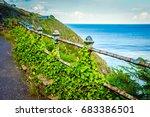 beautiful landscape. scenic... | Shutterstock . vector #683386501
