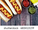 Hot Dogs With Mustard And...