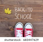 back to school and education... | Shutterstock . vector #683447629