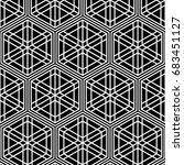 seamless tiled pattern of... | Shutterstock .eps vector #683451127