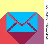Envelope Mail Icon. Vector....