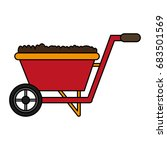 gardening tool icon image | Shutterstock .eps vector #683501569