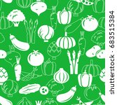 seamless pattern with... | Shutterstock .eps vector #683515384