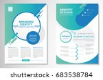 template vector design for... | Shutterstock .eps vector #683538784