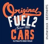 slogan original typography for...   Shutterstock .eps vector #683546491