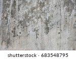 grey concrete wall texture ... | Shutterstock . vector #683548795