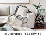 textured layers interior... | Shutterstock . vector #683559469