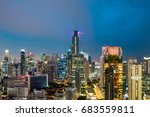 tourist take this photo from... | Shutterstock . vector #683559811