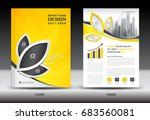 annual report brochure flyer... | Shutterstock .eps vector #683560081