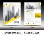 annual report brochure flyer... | Shutterstock .eps vector #683560135