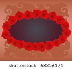 valentine day abstract... | Shutterstock .eps vector #68356171