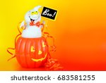 A Cute Halloween Decoration Of...