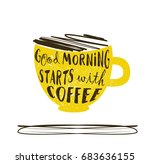 hand drawn typography lettering ... | Shutterstock .eps vector #683636155