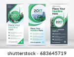 city background business roll... | Shutterstock .eps vector #683645719