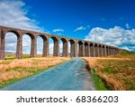 Famous Ribblehead Viaduct In...