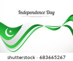 illustration for independence... | Shutterstock .eps vector #683665267