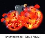 splitting the atom | Shutterstock . vector #68367832