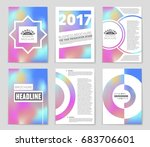 abstract vector layout... | Shutterstock .eps vector #683706601