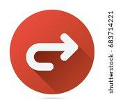 next arrow icon vector flat...