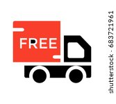 free delivery    Shutterstock .eps vector #683721961