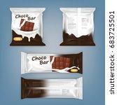 set of vector illustrations of... | Shutterstock .eps vector #683725501