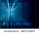 abstract background element.... | Shutterstock . vector #683733601