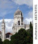 hieronymite monastery  lisbon... | Shutterstock . vector #683765551